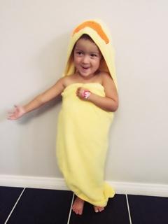 Ta Da...It's a Duck Towel